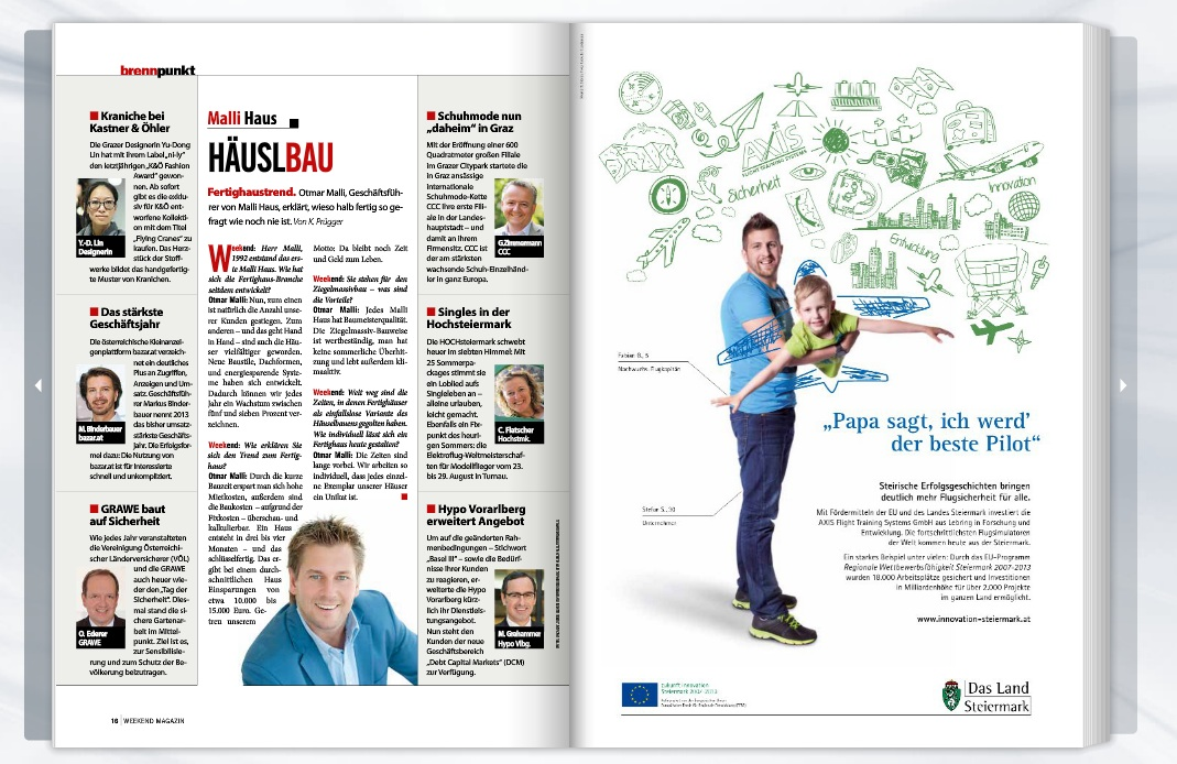 Weekend Magazin vom 18.05.2014