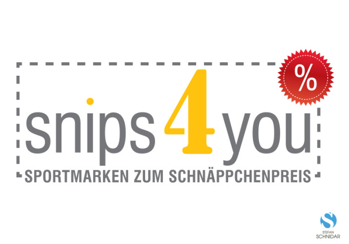 CI/Logo Design, snips4you by SCHNIDAR