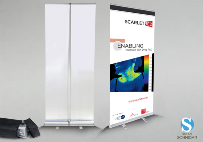POS - Rollup Display, SCARLETRED Holding GmbH