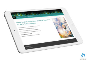 Website, iPad, DJ-LUKY Andreas Lukofnak